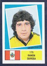 FKS 1978-ARGENTINA 78 #175-PERU-RAMON QUIROGA