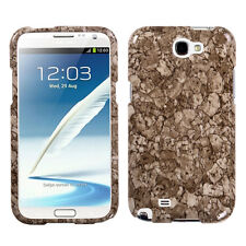 For Samsung Galaxy Note II 2 HARD Case Snap On Phone Cover Stone Vein