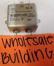 CORCOM, EMI FILTER AC POWER LINE, 8225, 3K1, F1512, 3A, 115/250V, 50-400HZ