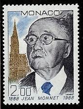 MONACO #1635 Jean Monnet 100th Anniv Birth MNH VF OG Nobel Prize 1988