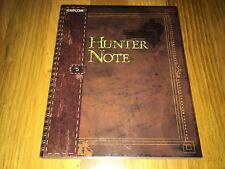 Monster Hunter 3 Tri Hunter Note Capcom Japan Official Book