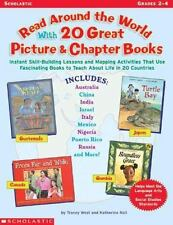 Read Around World 20 Great Picture & Chapter Books Grades 2-4 Home School Class