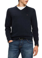Tommy Hilfiger Original jersey hombre 100% Cotton cuello pico