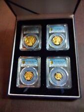 2008-W GOLD PR BUFFALOSET.PCGS PR70DCAM FIRST STRIKE. $50,$25,$10 and$5 coins