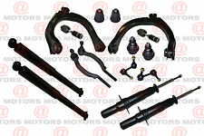 Suspension Stabilizer Bar Link Kit Front Upper Control Arms Tie Rods Shocks Kit