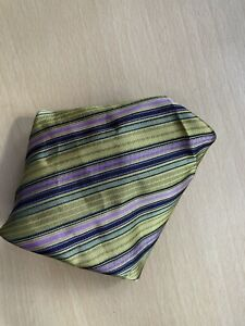 Mens Multi Coloured Pocket Square
