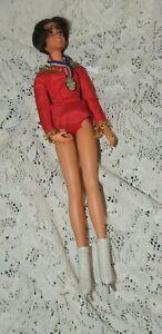 Vtg IDEAL Dorothy Hamill Olympic Gold Doll