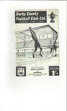 Division 1 Teams C-E Derby County Football Programmes