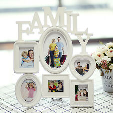 Family Photo Frame Wall Hanging Multi Picture Holder Display Home Album Decor US