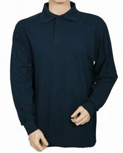 Protal Fire Retardant AntiStatic  Long Sleeved Polo Shirt Navy FR200 Arc