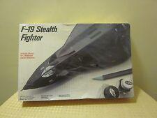 Vintage Sealed 1986 Testors Model Kit F-19 Stealth Fighter 1:48 Scale  BX15