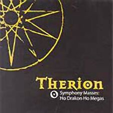 THERION - SYMPHONY MASSES +  HO DRAKON (remastered) cd
