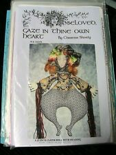 "Beloved Gaze~Christine Shively~15"" Rare 1999 whimsical cloth art doll pattern"