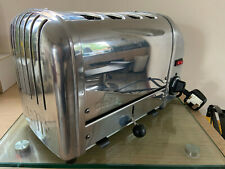 **DUALIT CLASSIC 4 SLICE VARIO TOASTER, MODEL 40352, POLISHED, PAT TESTED**