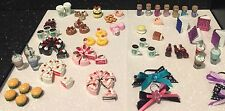 LPS Cake/Starbucks/Cookies/Coke/Burger Lot of 6 Accessories Littlest Pet Shop