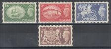 Great Britain Sc 286-289 MLH. 1951 KGVI Pictorials, complete set, VF