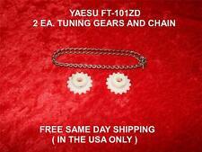 Yaesu FT-101ZD 2 ogni tuning ingranaggi e catena spedizione gratuita in giornata