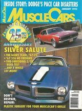 MUSCLE CARS 1992 JAN - CAMARO-FIREBIRD Spcl, GTA-S