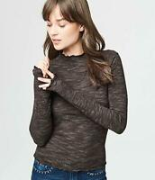 Aeropostale Women's Long Sleeve Shirt Wavy Edges