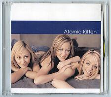 ATOMIC KITTEN advance promo 2003 U.S. CD In-house Acetate 12 Tracks