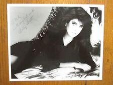 ASHLEY  SCOTT  Signed     8  X 10    Glossy   Black  and White   Photo