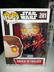 Funko Pop! Star Wars - Anakin Skywalker #281 EXC. - SIGNED BY HAYDEN CHRISTENSEN