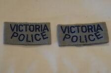 Australian Aussie Victoria Police Slip ons Patch Obsolete