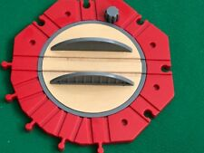 THOMAS  & FRIENDS WOODEN RAILWAY HUGE 10 POINT TURNTABLE  FOR BRIO TRAIN SETS
