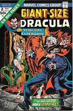 Giant-Size Dracula Comic Book #2, Marvel Comics 1974 VERY FINE/NEAR MINT