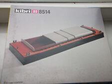 Kibri Bausatz  H0 8514 Schubleichter mit Rolluken  mit OVP 1:87