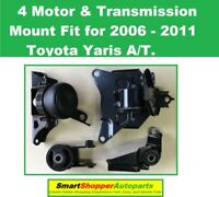 Motor /& Trans Mount 3pcs M399 For 2006-2011 2015-2017 Toyota Yaris 1.5L MANUAL