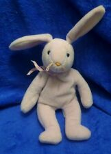 Ty Beanie Baby Floppity Lavender Rabbit Pvc Filled No Tag