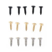 25pcs Electric Guitar Screw for Pickguard Back Plate Mount DIY Luthier  UR