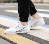 Adidas Continental 80 Originals Men's Shoes size 10.5 white/blue/orange EF2820