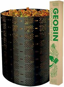 800L Compost Bin Food Waste Recycling Composter Kitchen Garden Composting GEOBIN