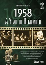 A Year to Remember: 1958 DVD (2018) ***NEW SEALED*** 1st Class Post!