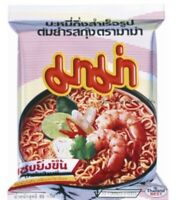 Mama Thai Instant Noodle Tom Yum Shrimp Flavour Hot Spicy Food Ramen New มาม่า