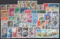 DE141875/ MONACO – EUROPA / LOT 1962 – 1992 MINT MNH FULL SETS CV 165 $