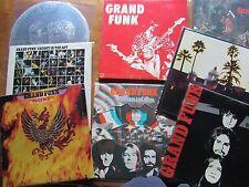 1st PR Grand Funk Railroad Red LP Phoenix E-pluribus Survival Shinin On Live lot
