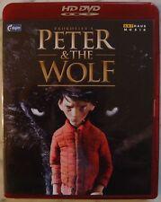 """HD-DVD """"Peter & The Wolf"""" [Sergei Prokoviev] TOP / VERY RARE"""