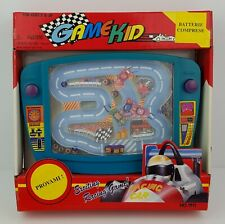 RACING GAME KID - VINTAGE 1991 HANDHELD GAME & WATCH - NUOVO FACTORY SEALED