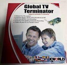 KWORLD DLX GLOBAL TV TERMINATOR PCI ADAPTER CARD VS-LTV7131RF pc computer remote