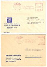 zwei AFS, VEB Formaplast Sohland (Spree), Versionen, o Sohland, 8606, 21.6.72 ..