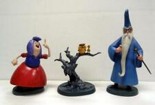 WDCC WIZARDS DUEL STATUE MERLIN MADAM MIM ARCHIMEDES SWORD IN THE STONE DISNEY