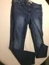 Women's Route 66 Skinny Distressed Classic Fit Denim Jeans Size 10