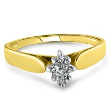 Certified 0.50cttw Diamond 14KT Yellow Gold Ring