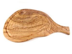 Olivenholz Käsebrett Servierplatte Brotzeitplatte Brett