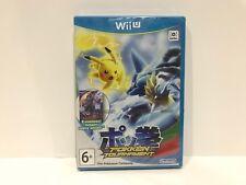 Pokken Tournament with Shadow Mewtwo amiibo card Nintendo Wii U PAL UK BRAND NEW
