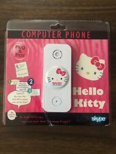 Hello Kitty Computer Phone Skype Calls Collectable Brand New Gift
