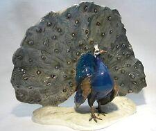 ROSENTHAL BIRD  PEACOCK 1611 F HEIDENREICH